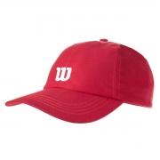Boné Wilson Logo W Vermelho