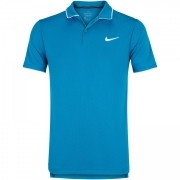 Camisa Polo Nike Court Dry Azul Petróleo