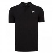 Camisa Polo Nike NSW CE Matchup Preta e Branca - Masculina