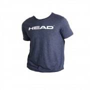 Camiseta Head Básica Marinho Mescla - Masculino