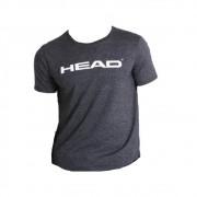 Camiseta Head Básica Preto Mescla - Masculino