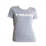 Camiseta Head Cinza Claro - Feminina