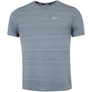 Camiseta Nike Dri Fit Miler Top SS Grafite