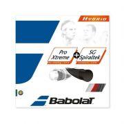 Corda Babolat Hybrid Pro Xtreme 1.25mm + SG Spiraltek 1.30mm - Set Individual