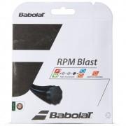 Corda Babolat RPM Blast 17L 1.25mm Set Individual Preta