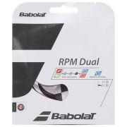 Corda Babolat RPM Dual 16 1.30mm Preta - Set Individual