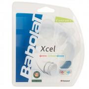 Corda Babolat Xcel 17L 1.25mm Azul - Set Individual
