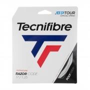 Corda Tecnifibre Razor Code 17L 1.25mm Branco Set Individual