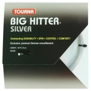 Corda Unique Tourna Big Hitter Silver 1.25mm Set Individual Cinza