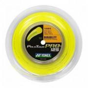 Corda Yonex Poly Tour Pro 1.25mm Amarela Rolo Com 200 Metros