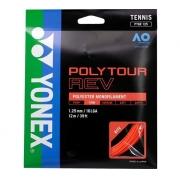 Corda Yonex Poly Tour Rev 16L 1.25mm Set Individual Laranja