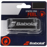 Cushion Grip Babolat Syntec Pro Preto e Prata