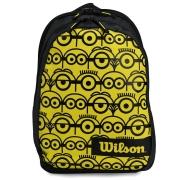 Mochila Wilson ESP Minions Junior Preta e Amarela