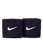 Munhequeira Nike Pequena Swoosh Marinho e Branco