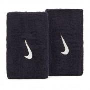 Munhequeira Nike Swoosh Longa Marinho e Branco