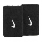 Munhequeira Nike Swoosh Longa Preto e Branco