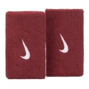 Munhequeira Nike Swoosh Longa Vermelho e Branco