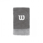 Munhequeira Wilson Grande Cinza e Branco Com 02 Unidades