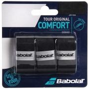Overgrip Babolat Tour Original Preto Com 03 Unidades