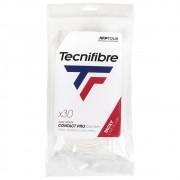 Overgrip Tecnifibre Pro Contact Branco Com 30 Unidades