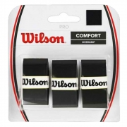 Overgrip Wilson Pro Comfort Preto Com 03 Unidades