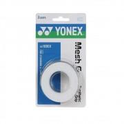 Overgrip Yonex Mesh Grap Com 03 Unidades Branco