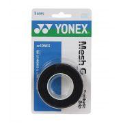 Overgrip Yonex Mesh Grap Com 03 Unidades Preto