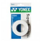 Overgrip Yonex Super Grap com 03 Unidades Branco
