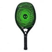 Raquete de Beach Tennis Turquoise Black Death Challenger Verde 2020