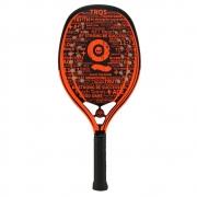 Raquete de Beach Tennis Turquoise Black Death Laranja 2021