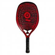 Raquete de Beach Tennis Turquoise Black Death Vermelha 2021