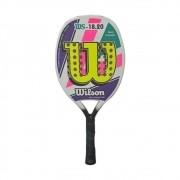 Raquete de Beach Tennis Wilson WS 18.20 Roxo e Rosa