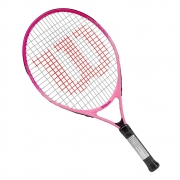 Raquete de Tênis Infantil Wilson Burn Pink II 23