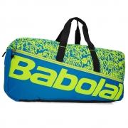 Raqueteira Babolat Duffle M Classic Azul e Amarelo