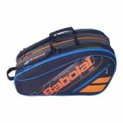 Raqueteira de Beach Tennis e Padel Babolat RH Team Preto e Azul