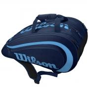 Raqueteira de Beach Tennis Wilson Marinho e Azul