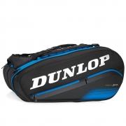 Raqueteira Dunlop FX Performance X8 Preta e Azul