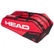 Raqueteira Head Core 6R Combi Vermelha e Preta