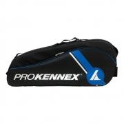 Raqueteira Prokennex Dupla X6 Preta e Azul 2021