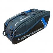 Raqueteira Prokennex Tripla X12 Preta e Azul 2021