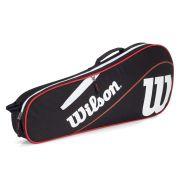 Raqueteira Wilson ESP Advantage III X3 Preta