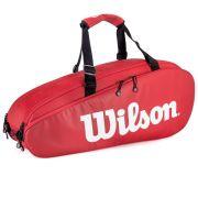 Raqueteira Wilson ESP Tour X6 Vermelha