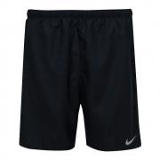 Shorts Nike Dry Fit Challenger 7 BF Preto e Prata - Masculino