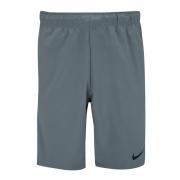 Shorts Nike Flex Woven 3.0 Cinza e Preto - Masculino