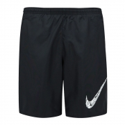Shorts Nike Run 7in BF WR GX Preto e Branco - Masculino