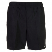 Shorts Nike Swim Volley 7 Preto e Branco