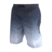 Shorts Nike Swim Volley 9 Degrade Preto e Branco
