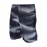 Shorts Nike Swim Volley 9 Listrado Preto e Branco
