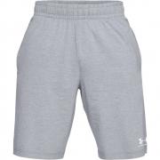 Shorts Under Armour Moleton Cinza e Branco - Masculino