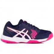 Tênis Asics Gel Dedicate 5 A Marinho e Pink 832ce072efa3d